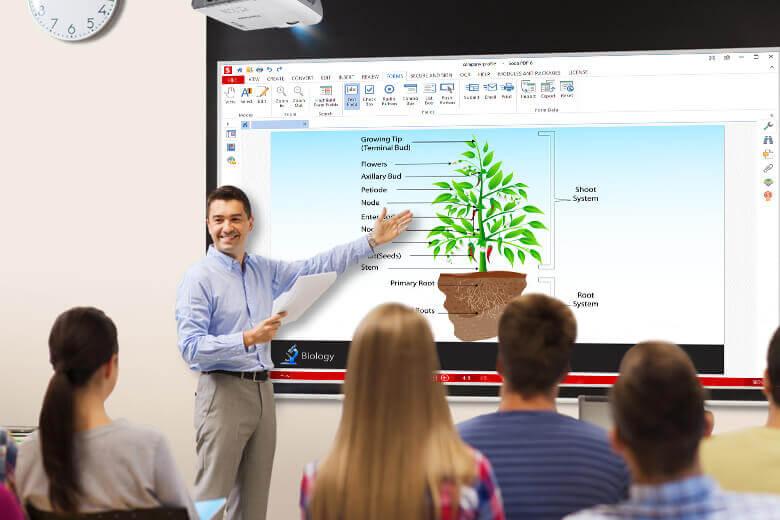 ViewSonic projector class standard throw header